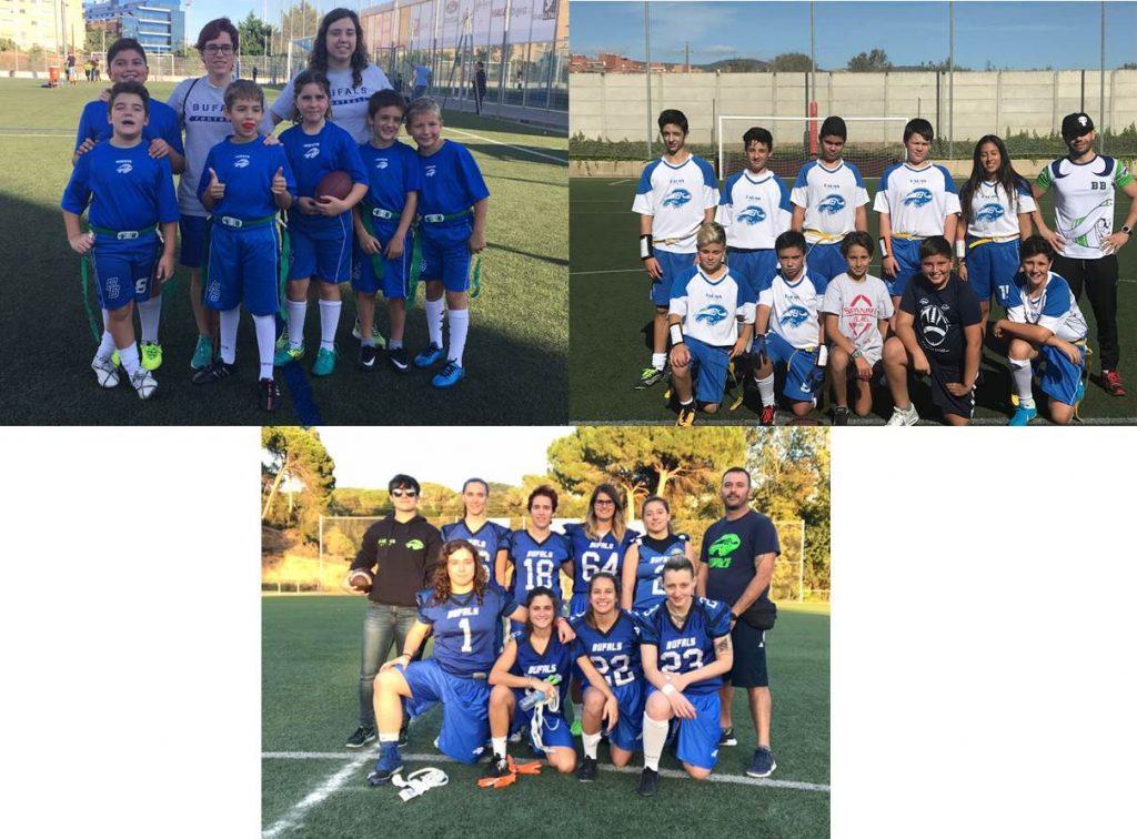 Debut de nuestros equipos de Flag Football
